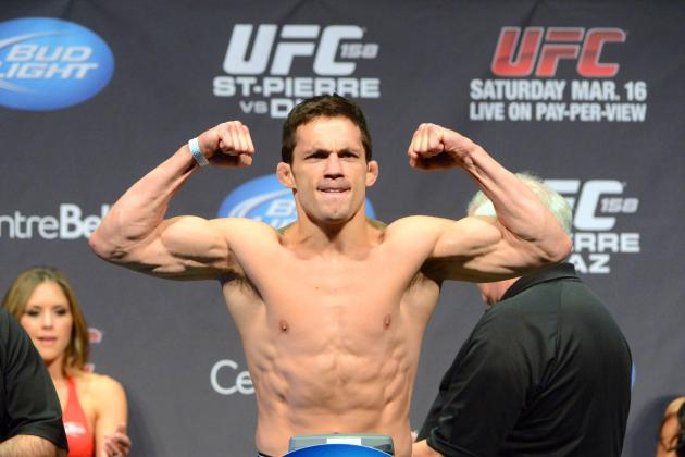 UFC on Fox 8: Jake Ellenberger Has Focus Locked on Clash with Rory MacDonald