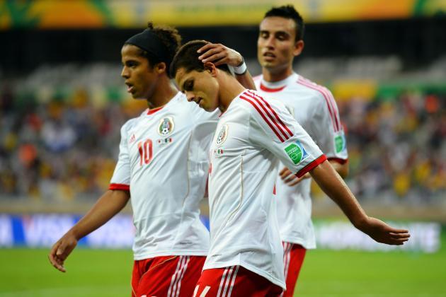 Javier Hernandez (2) (Mexico) V Japan