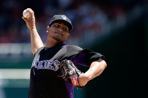 Rockies Snap Five-Game Losing Streak, Hammer Nationals