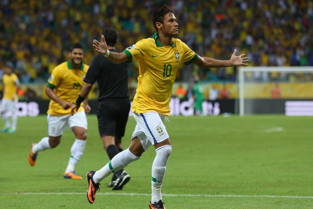 Neymar's Free-Kick Goal Was Only Topped by His Celebration