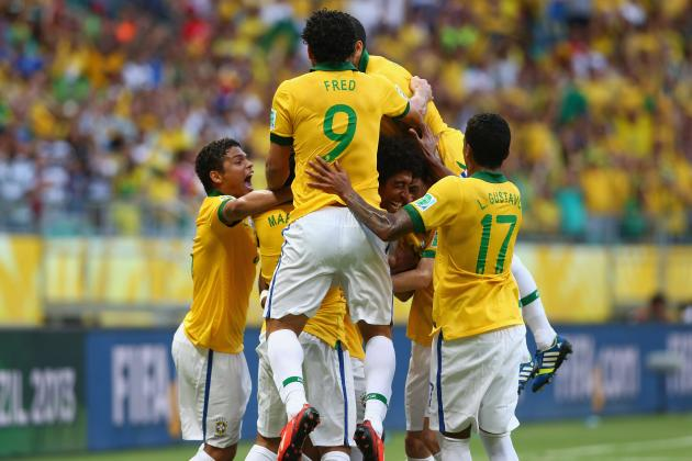 Brazil's Confederations Cup Showing Has Installed Them as World Cup Favorites