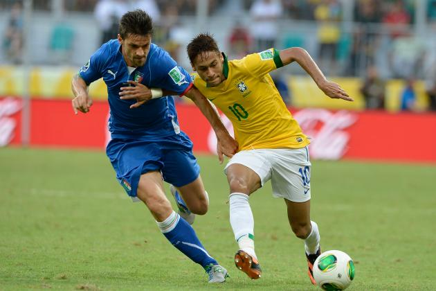 Confederations Cup Italy vs. Brazil: Player Ratings for Italy