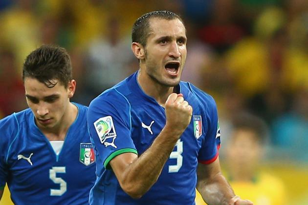 Chiellini: 'We Troubled Brazil'