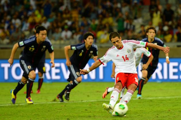 Japan vs. Mexico: Why El Tri's Win and Chicharito Are Key for WC Qualifiers