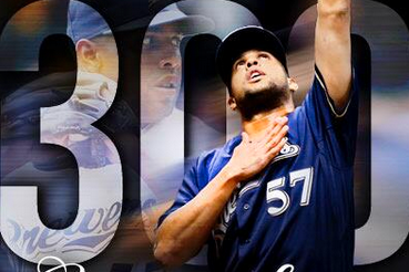 K-Rod Records Save No. 300