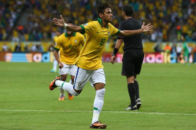 Assessing Neymar's Contribution for Brazil in Confederations Cup Group Stages