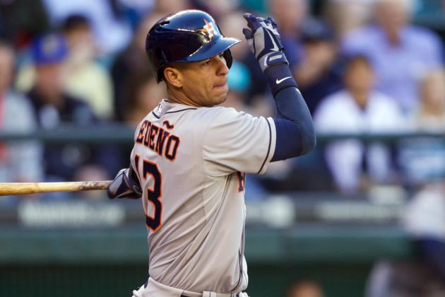 Ex-Cub Cedeno Leads Astros to Win