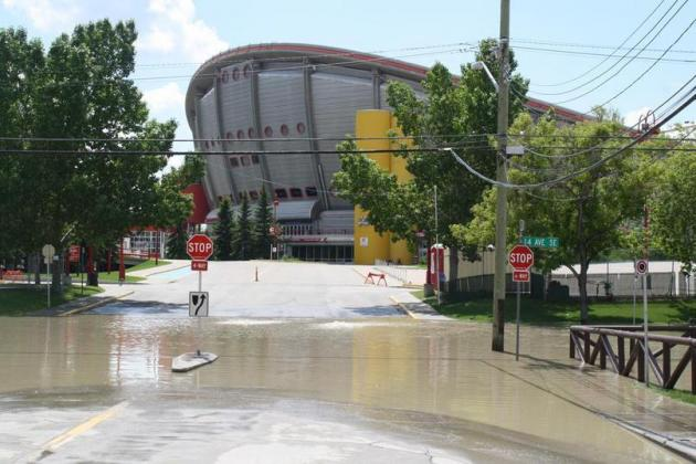 Will the Calgary Flames Be Impacted By Flooding at the Scotiabank Saddledome?