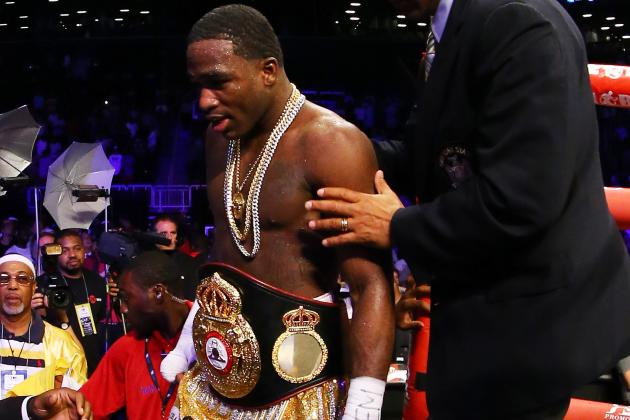 Broner Continues Trash Talk After Claiming Title