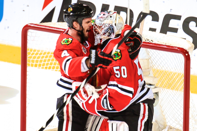 Chicago Blackhawks vs. Boston Bruins: Corey Crawford Rebounds as Expected