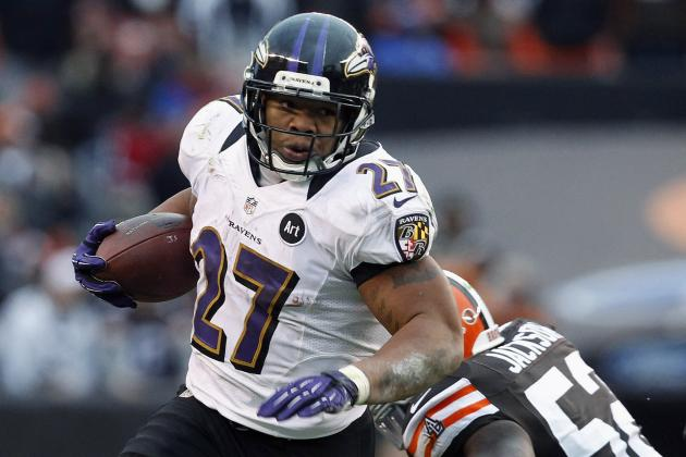 Ray Rice Nearing Franchise Record in All-Purpose Yards