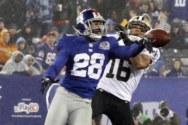 Competition Analysis for the New York Giants' Slot Cornerback Role