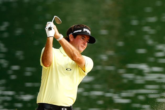 Bubba Watson in Position for First Win Since 2012 Masters
