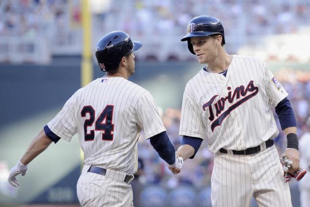 Justin Morneau out vs. Indians
