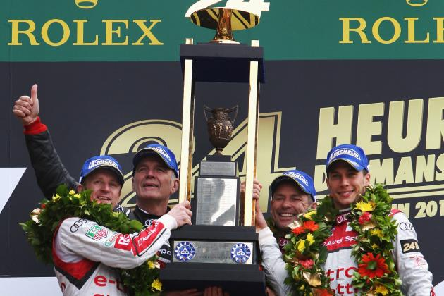 Le Mans 2013: Ranking Tom Kristensen's Best First-Place Finishes