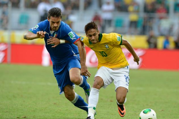 Breaking Down Neymar's Brazil Stats at the Confederations Cup