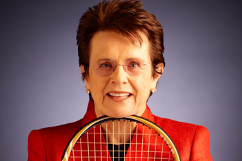 Billie Jean King: 'Not About the Money. It's About the Equality Message'