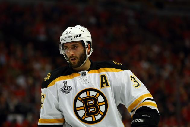 Patrice Bergeron Injury: Boston Bruins Won't Win Game 6 Without Star Center