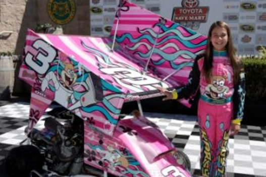 Dale Jr.'s 12-Year-Old Niece to Race in Karts