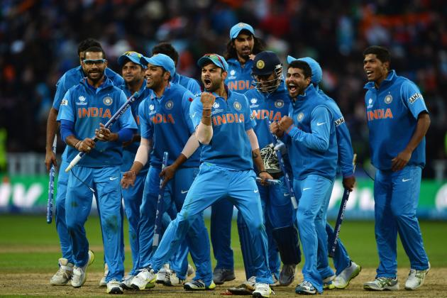 ICC Champions Trophy Final 2013: England vs. India Score, Recap and More