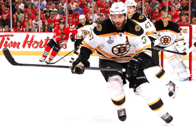 Stanley Cup 2013: Why Patrice Bergeron Is Boston Bruins' Most Important Skater