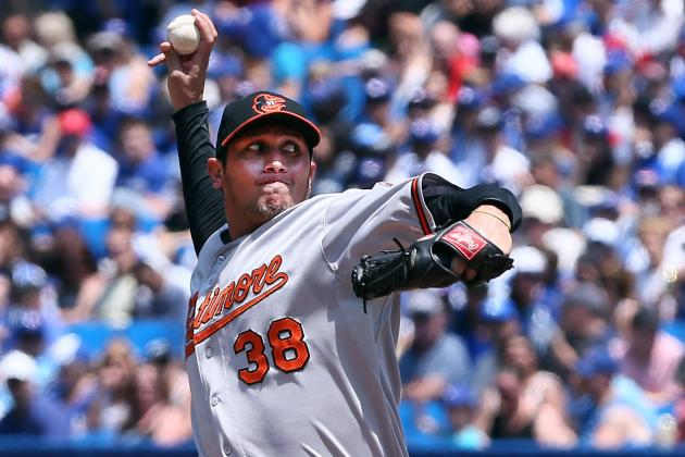 Freddy Garcia Roughed Up Early as Orioles Swept by Blue Jays