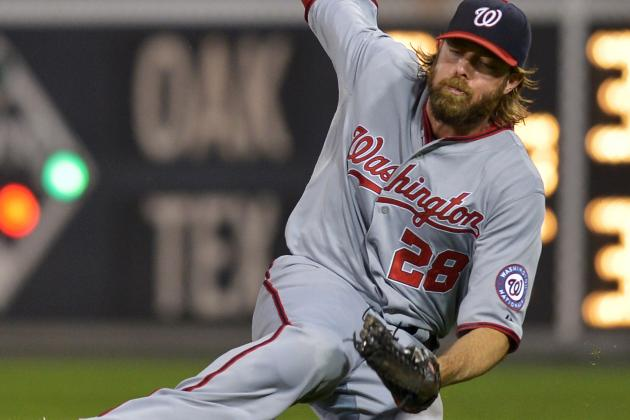 Werth Diagnosed with Pulled Groin, Haren Shoulder Stiffness