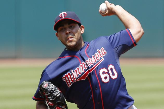 Twins Option Hernandez; Recall Gibson