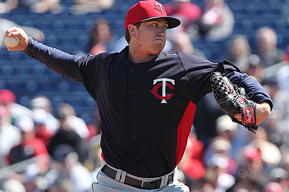 Twins Promote Top Pitching Prospect Kyle Gibson to Majors