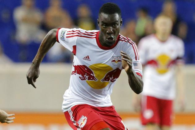 Red Bulls Down to 10 Men, Trail Union 1-0