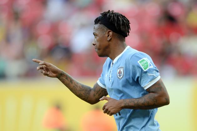 Confederations Cup: Watch Abel Hernandez's 4-Goal Haul in 8-0 Uruguay Win