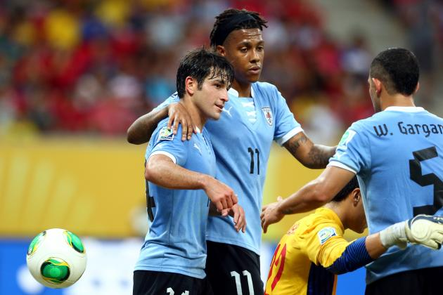 Uruguay vs. Tahiti: Score, Grades and Post-Match Reaction