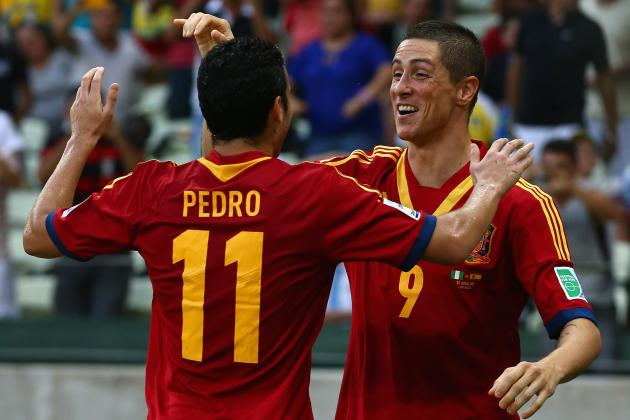 Confederations Cup Today: Big Wins for Spain & Uruguay; Balotelli Injured