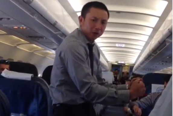 Video: Kawasaki Gets Weird on the Plane
