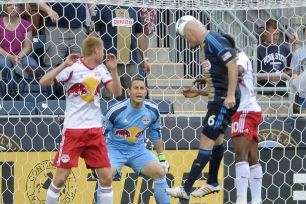 Result: Casey Brace Downs 10-Man Red Bulls