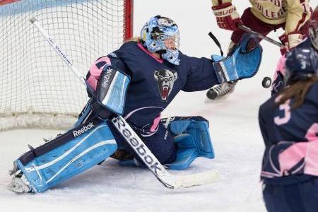 Maine Goaltending Stalwart Brittany Ott Enters 2013 CWHL Draft