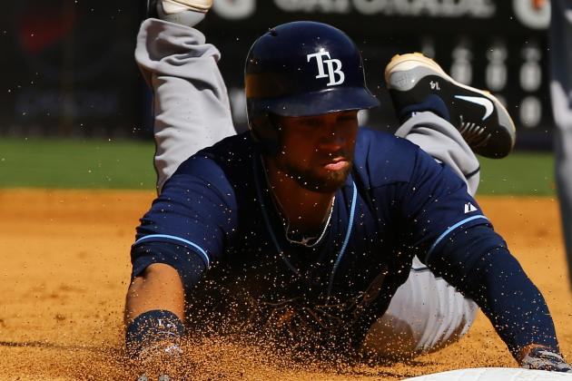 Loney, Rays Earn Series Split with Yankees
