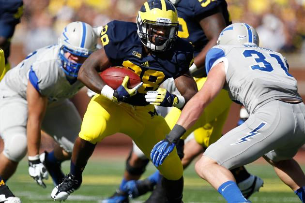 Michigan Football: What to Expect from Wolverines RBs in 2013