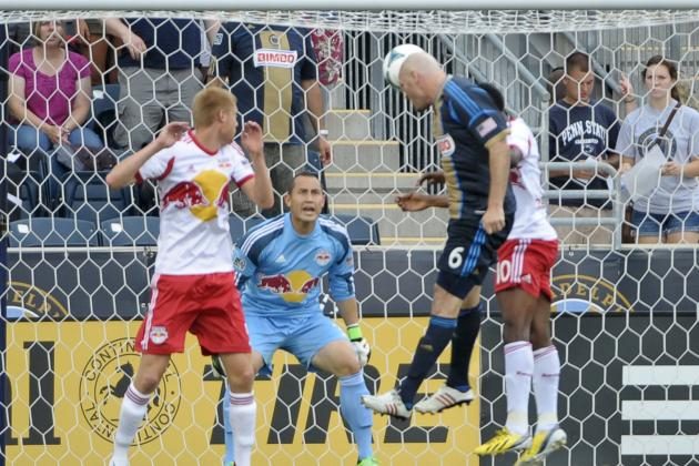 Philadelphia Union vs New York Red Bulls 06-23-2013: Recap