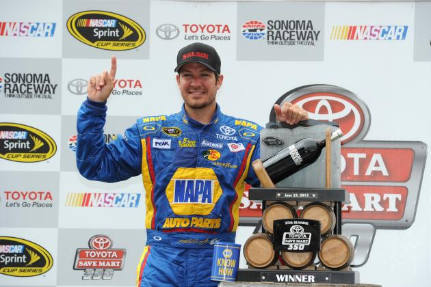 NASCAR Sonoma 2013: What Martin Truex Jr. Must Do to Achieve Star Status