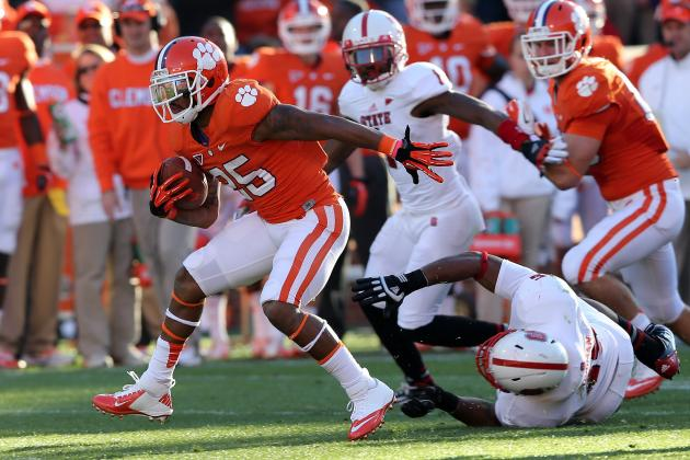 Clemson Football: What Kind of Rushing Attack to Expect From the Tigers in 2013