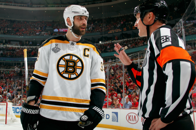 2013 Stanley Cup: How Worried Should Boston Bruins Be About Zdeno Chara?