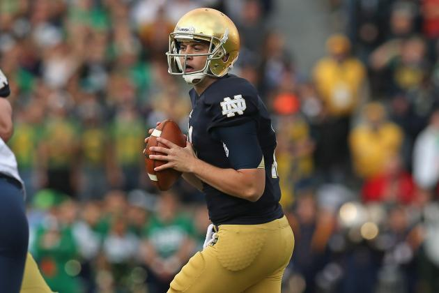 Notre Dame Football: Tommy Rees vs. Everett Golson by the Numbers