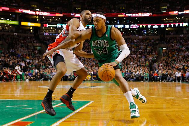 Toronto Raptors  Should Consider Trading for Paul Pierce