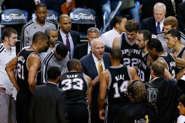 Early Predictions of San Antonio Spurs' NBA Championship Odds for Next Season