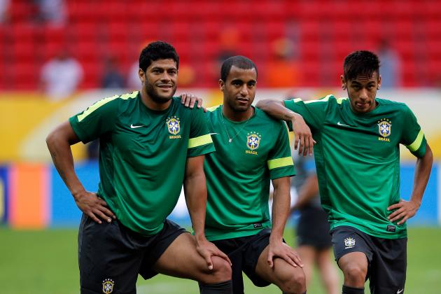 Hulk or Lucas Moura: Who Deserves Brazil's World Cup Starting Spot More?