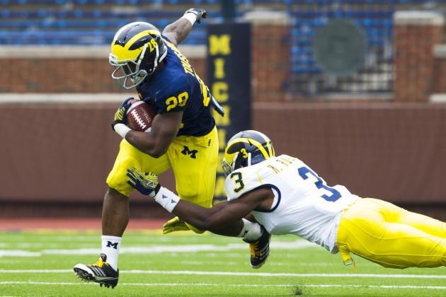 Ex-Michigan DB Marvin Robinson Reportedly Transferring to Division II School