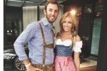 Paulina Gretzky as St. Pauli Girl for Johnson's B-Day
