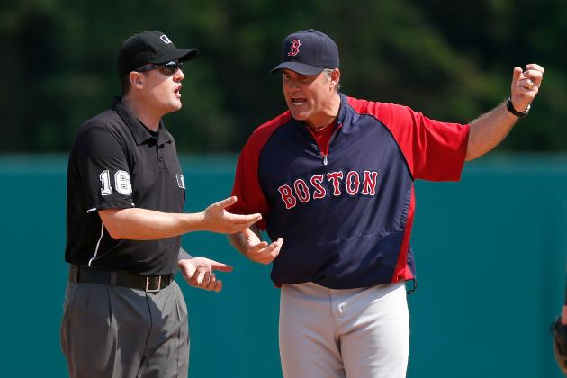 Farrell: Umps, Not Nava, Dropped Ball