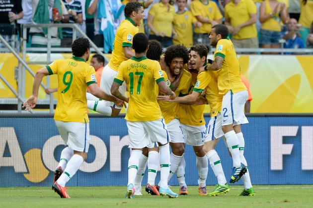 Brazil vs. Uruguay: Selecao Will Easily Advance to 2013 Confederations Cup Final